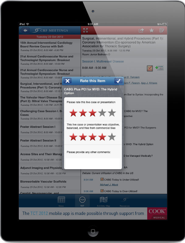 Surveys, Questionnaires, Feedback | Apps for Events | iPad, iPhone ...