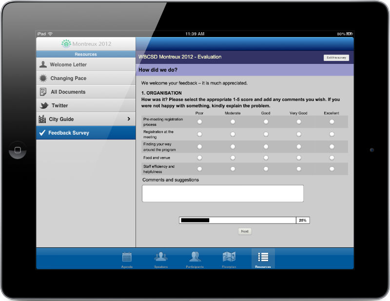 apps for surveys surveys questionnaires feedback apps for events ipad 744